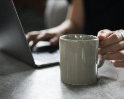 Veluws Wonen verkoop voorbereiding laptop